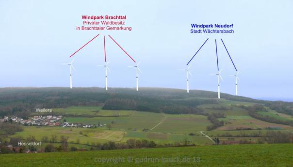 Windkraft wachtersbach